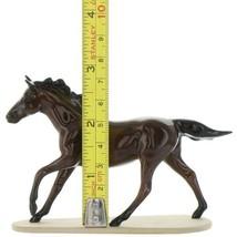 Hagen Renaker Miniature Horse Thoroughbred Race Seabiscuit Ceramic Figurine image 2