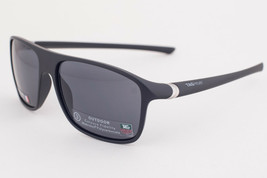 Tag Heuer 27 Degree 6041 Matte Black / Gray Polyvalent Sunglasses TH6041... - $224.91