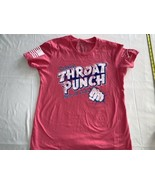 Grunt Style Men's Pink Throat Punch Short Sleeve T-Shirts Size L - $16.14