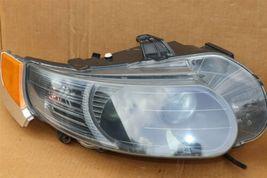 06-09 Saab 9-5 HId Xenon Headlight Head Light Lamps Set L&R - POLISHED image 3