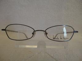 Nicole Miller Cutaway in Ice Black 49X18 135mm Eyeglass Frame - $23.33