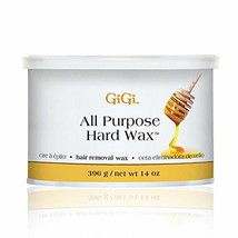 GiGi All Purpose Hair Removal Hard Wax for All Skin Types, 14 oz
