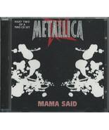 METALLICA - MAMA SAID 1996 UK CD SINGLE PART 2 VERTIGO METCX 14 - $33.18