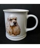 Blonde Cocker Spaniel Dog Mug XPres Best Friend Originals 1999 Barbara A... - $10.99