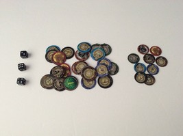The Hunger Games Training Days Game 27 Effort 9 District Tokens Dice Replacement - $7.69