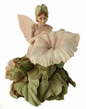 White Bindweed Fairy Figurine Flower Fairies Ornament - $171.50