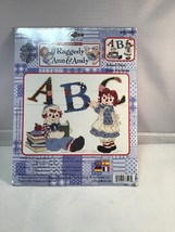 Counted Cross Stitch Raggedy Ann & Andy Janlynn Quilting Sewing hobby DIY Doll - $9.82