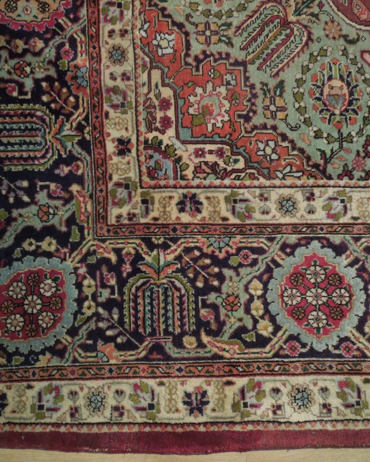 Compex Design Original Red Traditional Persian Wool Handmade Rug 10x16 Rug image 2