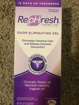 RepHresh Vaginal Gel, Odor Eliminating Gel, 4 ea (1 Pack). NEW  03/19 & ... - $17.70
