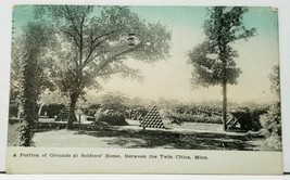 MN Portion of Grounds Soldiers Home Between Twin Cities Minn. 1910 Postc... - $7.45