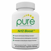 Nrf2 Boost - 60 Veggie Capsules | Oxidative Stress Formula | NRF-2 Activator wit