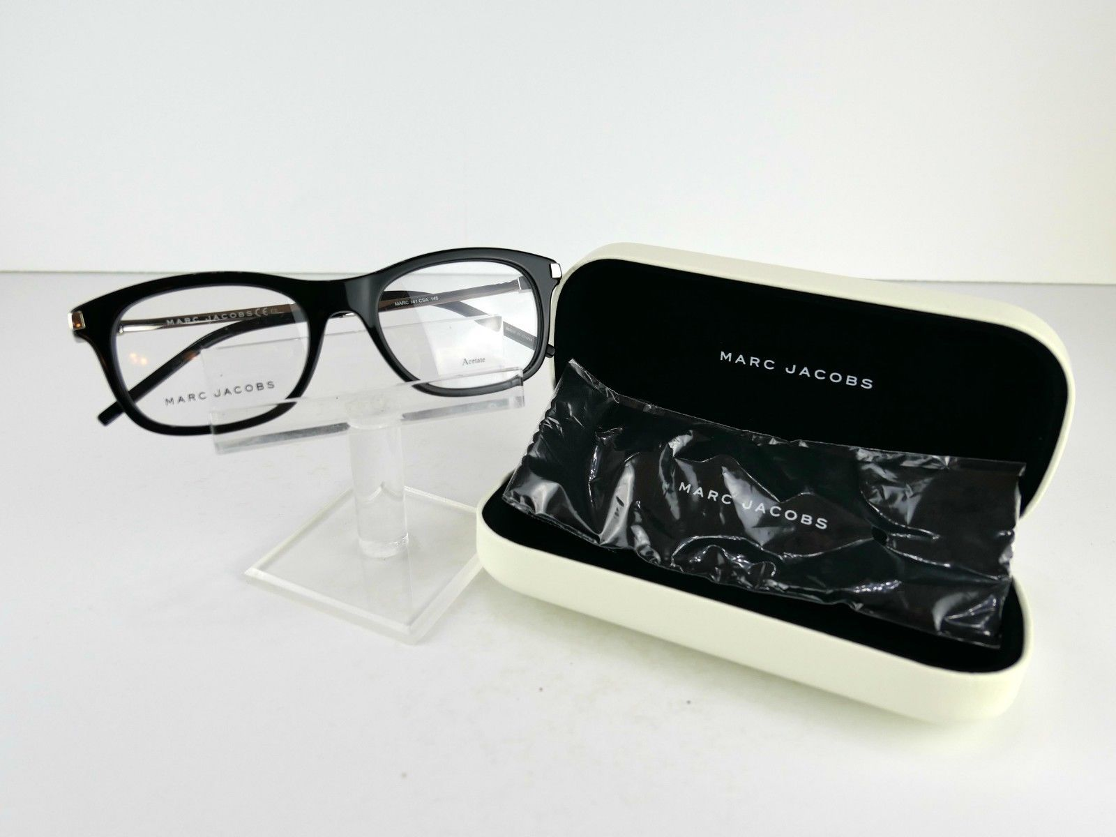 Primary image for Marc by Marc Jacobs MARC 141 (CSA) Black / Palladium 52 x 19  Eyeglass Frames