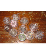 Plastic Touch & Sew Bobbins 11 Used Working Bobbins - $7.50
