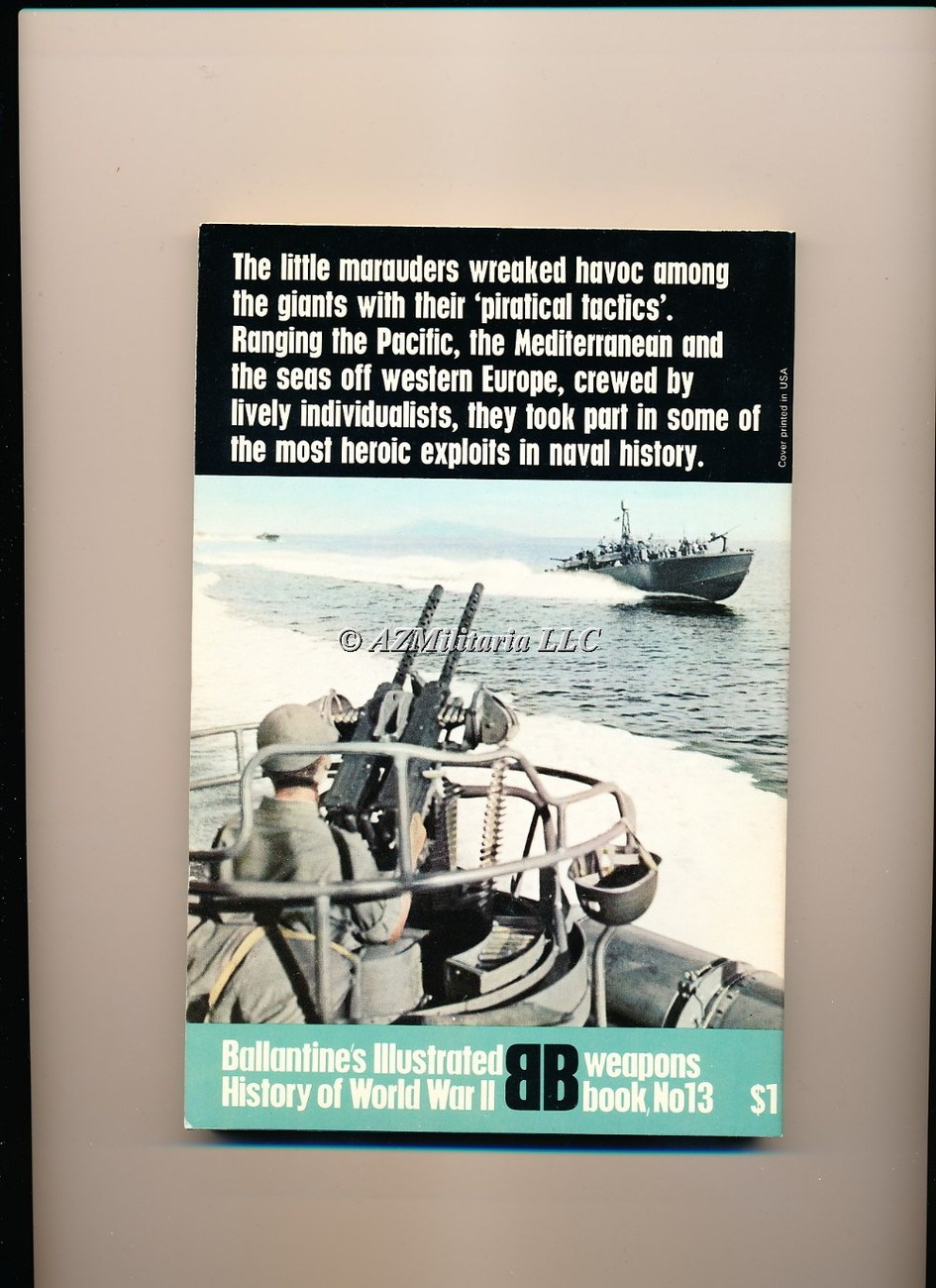 PT Boats (Weapons Book, No 13)