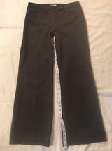 Ann Taylor LOFT Petites Womens Dress Pants, Gray size 6P Classy Work App... - $22.44