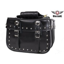 """15"""" W Motorcycle WATERPROOF Zip-Off Saddlebags For Harley Davidson Dyna & MORE - $74.76"""