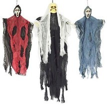 Halloween Hanging Witch Prop Animated Skeleton Ghost Scary Yard Outdoor ... - €20,57 EUR