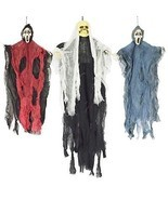 Halloween Hanging Witch Prop Animated Skeleton Ghost Scary Yard Outdoor ... - €20,16 EUR