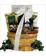 Savory Cheese & Snack Sampler: Thank You Gift Basket - $62.99