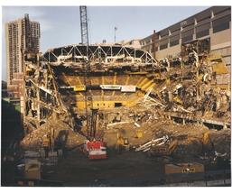 Boston Garden Demolished Celtics Bruins Vintage 24X30 Color Memorabilia ... - $41.95