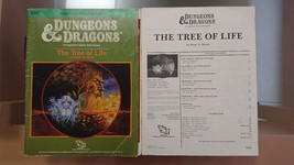 CM7 The Tree Of Life Dungeons & Dragons Tsr 9166 - 7 Module - $63.30