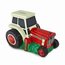 Red & White International Harvester Tractor Bank IH in Gift Box - $22.76