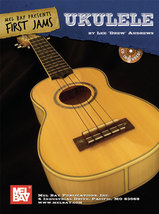 First Jams Ukulele Songbook w/CD/Old TIme Tunes/Some Irish - $11.93