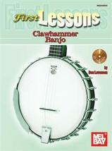 First Lessons Clawhammer Banjo Dan Levenson Book/CD Set - $8.00