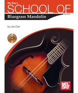 School of Bluegrass Mandolin/Joe Carr/w/CD - $11.93