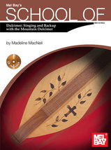 School of Dulcimer:Singing and Backup With The Mountain Dulcimer/Book/CD... - $14.57