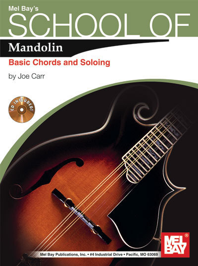 School of Mandolin Basic chords and Soloing/w/CD For Irish Tenor Banjo Too!