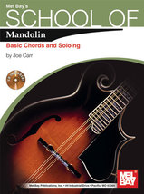 School of Mandolin Basic chords and Soloing/w/CD For Irish Tenor Banjo T... - $11.90