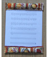 Sheet Music Sitter Keeps Papers Still When Breezy/Handcrafted! - $8.41