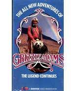 The all New Adventures of Grizzly Adams - VHS - $3.95