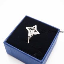 NIB Swarovski 5372931 Sparkling Dance Ring Crystal Clear White Rhodium S... - $48.95