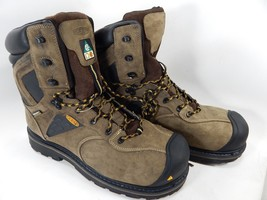 "Keen Tacoma 8"" XT CSA Size 14 M (D) EU 47.5 Water Shock Proof Steel Toe Boots"