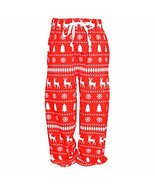 Unique Baby UB Boys Winter Print Matching Family Holiday Pajama Pants (8) - $9.99
