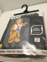 Star Wars Child Costume X-Wing Fighter Pilot Toddler 2T - 3T Disney Romp... - $5.00