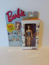 1995 NRFB Mattel's Barbie Keychain Featuring 1959 Original Brunette Barbie - $5.45