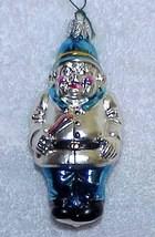 Vintage POLICEMAN Glass Christmas Ornament - West Germany - $18.00
