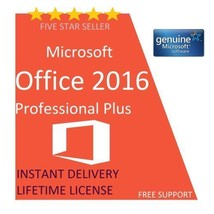 Genuine  Office 2016 Professional Plus Product Key & Download Link  - $7.57