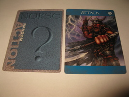 2003 Age of Mythology Board Game Piece: Norse Random Card: Attack 5 - $1.00