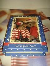 Boyds Bears Gloria Bearsevelts Beary Special Notes - $24.99