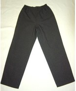WOMEN DANA KAY GREY DRESS CAREER PANTS SIZE 10 - $10.99