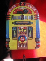Vintage CoCa Cola Jukebox Cookie Tin - $9.46