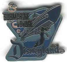 Disney DL- 1998 Attraction SUBMARINE VOYAGE ride pin - $79.98