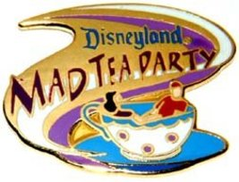 Disney DL 1998 Attraction Mad Tea Party ride pin/pins - $56.39