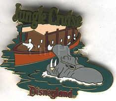 Disney DL- 1998 Attraction Jungle Cruise ride pin/pins
