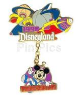 Disneyland 1988 Tomorrowland Dangle ride pin/pins - $29.99