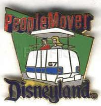 Disney DL - 1998 Attraction People Mover ride pin/pins - $19.29